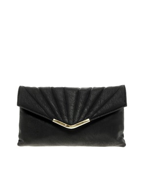 Image 1 ofNew Look MacBeth Quilted Clutch