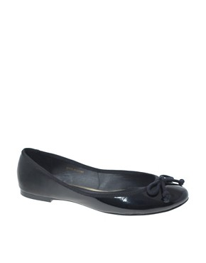 Image 1 ofASOS LUCY Patent Ballet Flats
