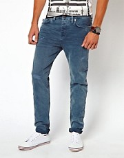 River Island Slim Craig Jeans in Blue