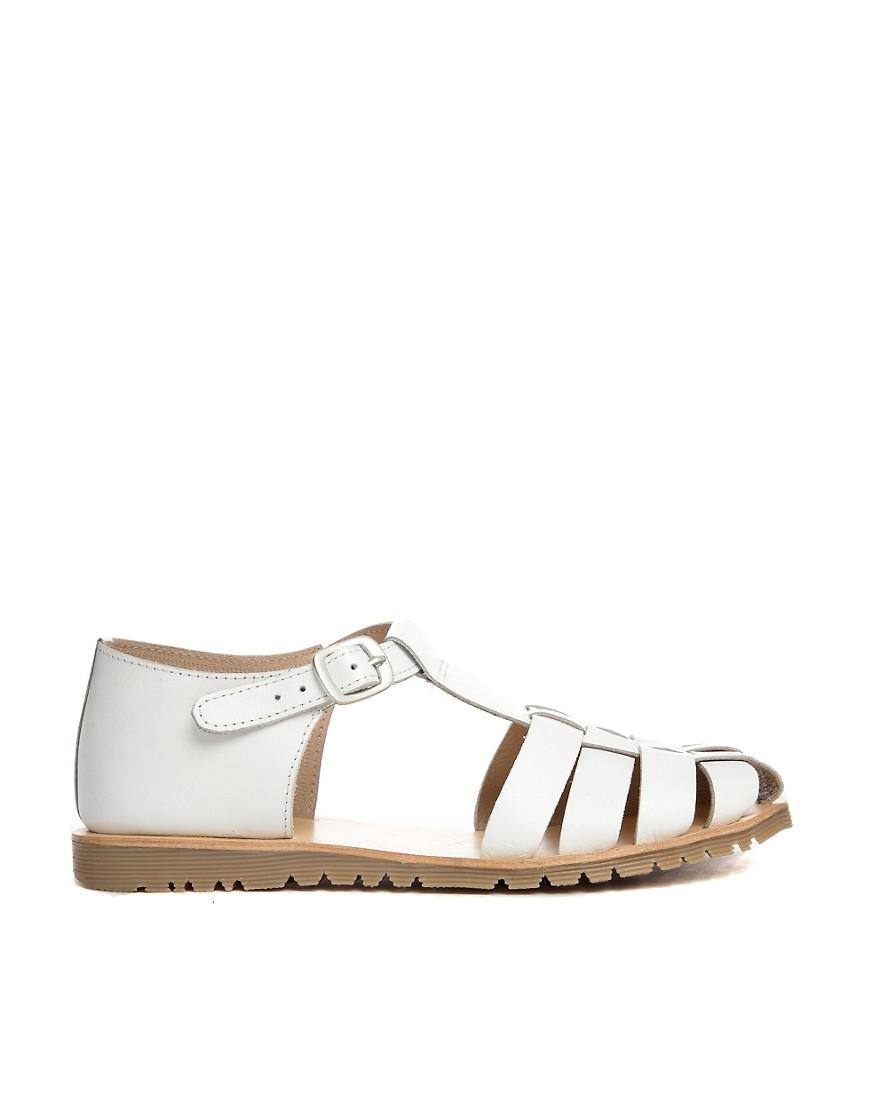 asos asos jurassic leather t bar flat shoes at asos