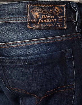 Image 4 ofDiesel Zathan 74W Bootcut Jean