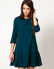Whistles Isabella Drop Waist Dress
