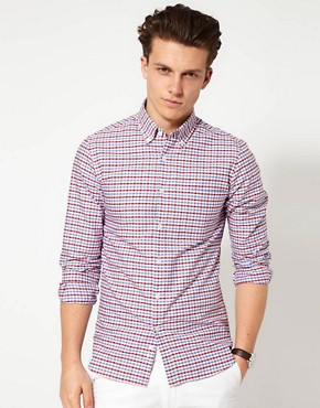 Image 1 of Hentsch Man Shirt Check Sunday