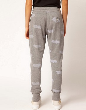 Image 2 ofZoe Karssen Bat Printed Sweat Pants