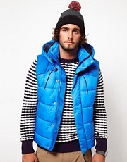 G Star Hooded Gilet