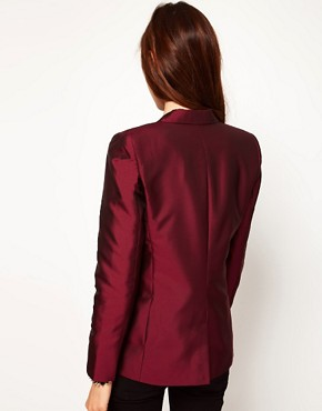 Image 2 ofASOS Premium Evening Tux Blazer