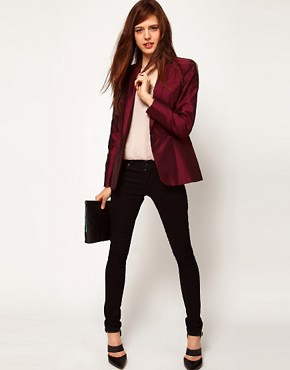 Image 4 ofASOS Premium Evening Tux Blazer
