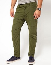Diesel - Akysspo - Pantaloni stile militare
