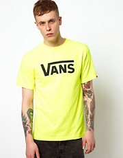 Vans T-Shirt Neon Classic Logo