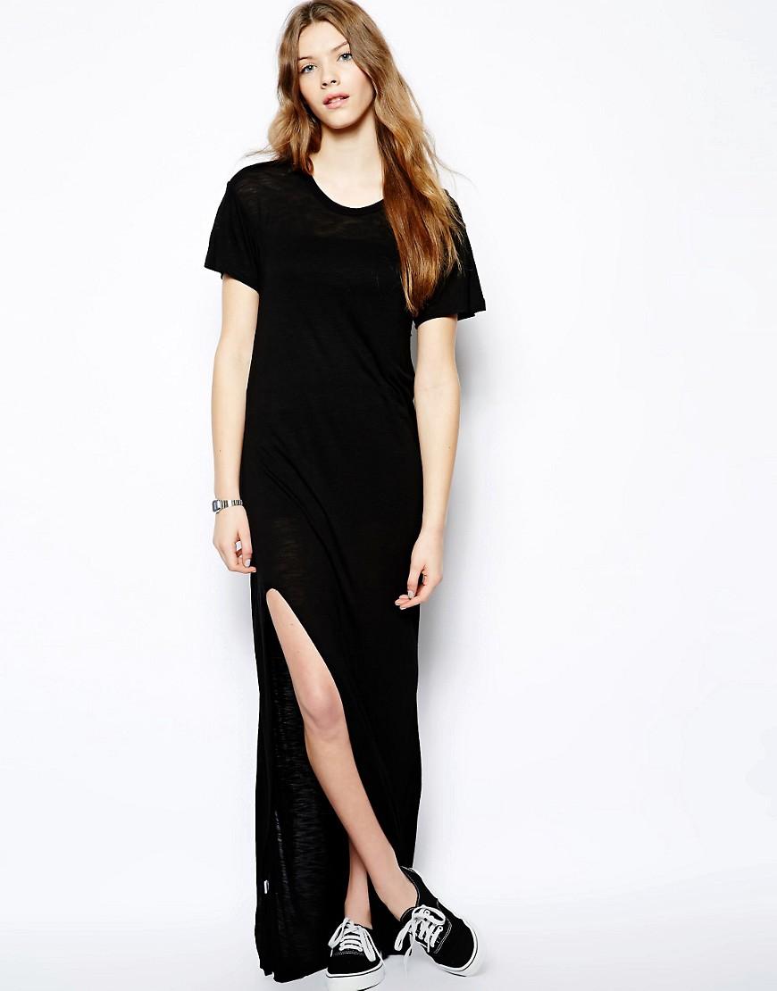 Pencey Standard Maxi Jersey Dress - Black