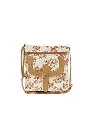 New Look Pastel Floral Cross Body Bag