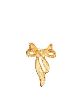 Image 2 ofSusan Caplan Exclusive For ASOS Vintage 80s Bow Pin