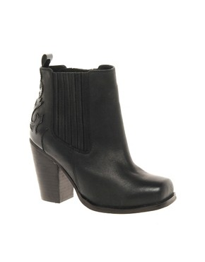 Image 1 ofASOS ANDERSON Leather Ankle Boots