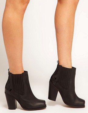 Image 3 ofASOS ANDERSON Leather Ankle Boots