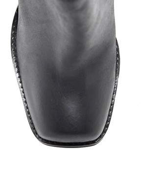 Image 4 ofASOS ANDERSON Leather Ankle Boots