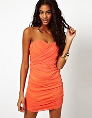 Rare Wrap Bandeau Dress with Ring Detail