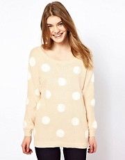 Oasis Spotty Sweater