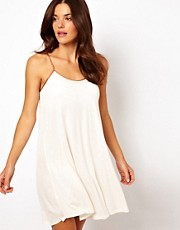 River Island Robin Short Jersey Strap Babydoll Dress