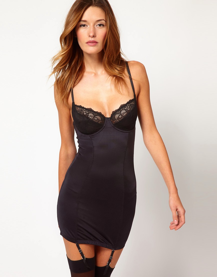 Image 1 of Marie Meili Genevieve Control Slip Dress
