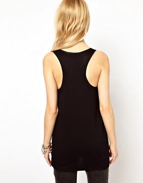 Image 2 ofRiver Island Woven Mix Vest