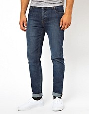 ASOS - Jeans skinny a lavaggio medio