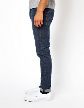 Image 3 ofASOS Skinny Jeans In Mid Wash