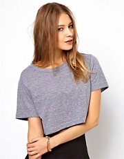 American Apparel - T-shirt ampia e corta
