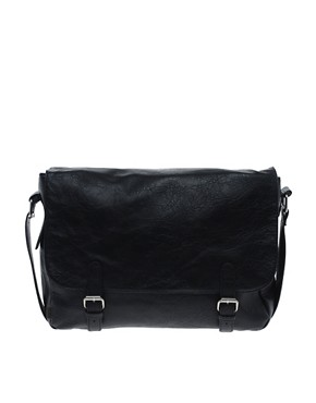 Image 1 ofASOS Satchel with Double Buckle
