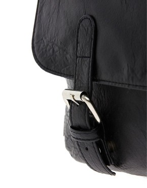 Image 2 ofASOS Satchel with Double Buckle