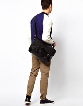 Image 3 ofASOS Satchel with Double Buckle