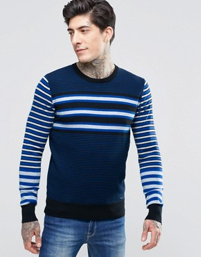 Diesel K-Calib-C Stripe Jumper