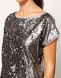 Image 3 ofRiver Island Sequin T-Shirt