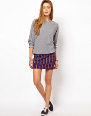 Stussy Printed Mini Skirt