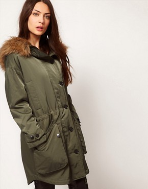 Image 1 ofSelected Oversized Army Parka