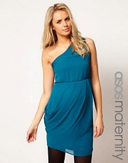 ASOS Maternity One Shoulder Dress