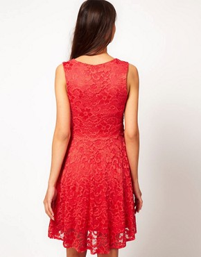 Image 2 ofASOS Maternity Exclusive Lace Skater Dress