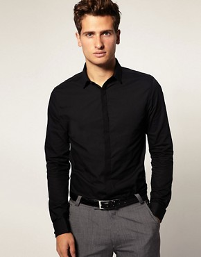 Image 1 ofASOS Double Cuff Shirt