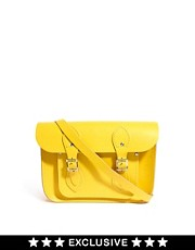 "Cambridge Satchel Company Exclusive To ASOS Canary Yellow 11"" Satchel"