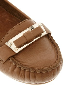 Image 2 ofDune Lancer Tan Leather Moccasins
