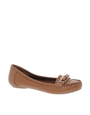 Image 1 ofDune Lancer Tan Leather Moccasins