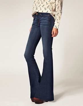 Image 4 ofJ Brand Martini Mid Rise Skinny Flare Jean in Mayflower