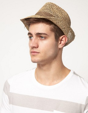 Image 2 ofASOS Seagrass Paisley Trilby