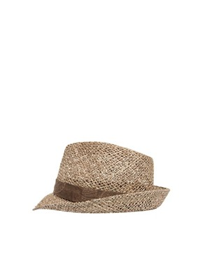 Image 4 ofASOS Seagrass Paisley Trilby