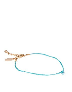Image 1 ofOrelia Exclusive To ASOS Turquoise Friendship Bracelets
