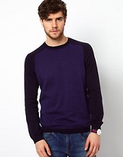 ASOS  Pullover mit Raglanrmeln und Rundhalsausschnitt