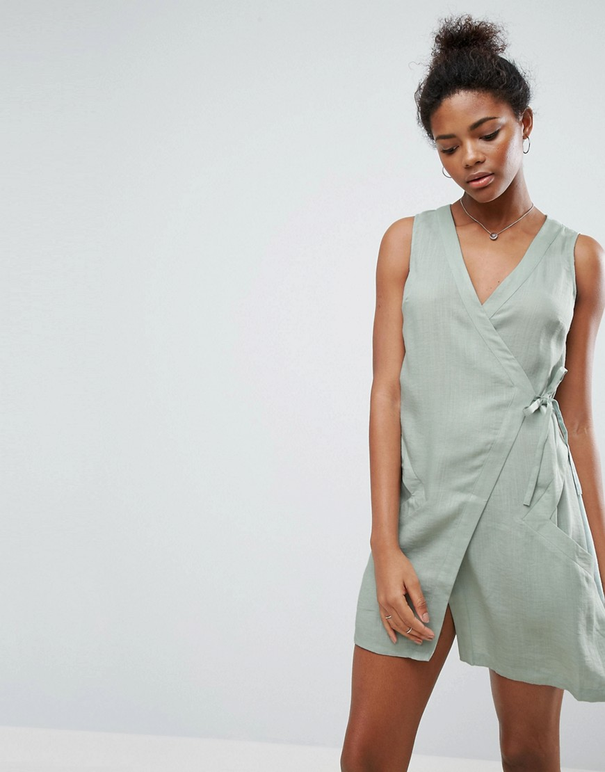 A State Of Being Vanish Wrap Dress