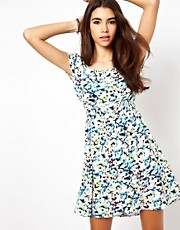 Only Print Tea Dress