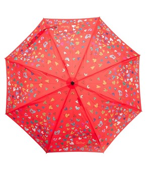 Image 4 ofMoschino Cheap &amp; Chic Hearts Umbrella