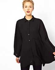 ASOS Shirt With Angel Sleeve