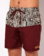 Shorts de bao Sahara Wanderer de Afends